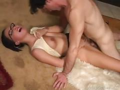 brunette, pornstar, brunettes, blowjob, ass, pornstars, glasses, big-tits, cumshot, facial