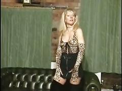 British milf slut anna in a few solo scenes