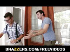 Brazzers - hot redhead syren de mer fucks her son's friend