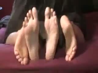 Footsie humping