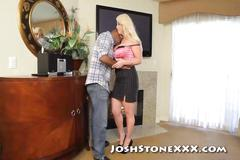 Alura jenson fucks black repairman while hubby is away