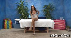 Good looking tanned honey sitting on a dick