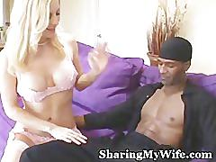 Sharing my wife with black guy