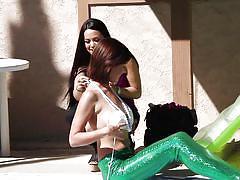 Mermaid chicks show off their tits @ season 2 ep. 5