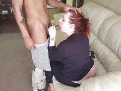 Sucking on my first bbc (part 5 of 7)