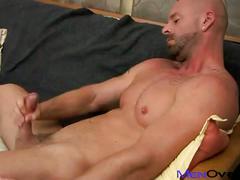 hunks, solo, porn stars, jerking, handjob, muscle man, stud