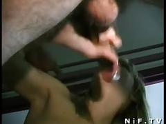 Amateur french couple doing sodomy