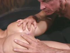 Young girl's hardcore anal sex