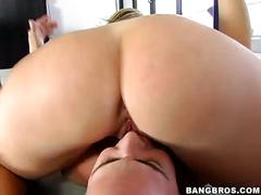 Big ass and big titted milf rides cock