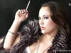 Kristina rose - smoking fetish at dragginladies