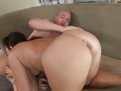 big ass, big dick, brunette, hardcore, pussy, hd, big cock, brown hair, bubble butt, cowgirl, doggy style, missionary, piledriver, round ass, shaved pussy