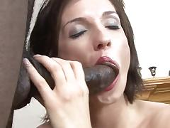 Hairy milf anal bbc banging and facial