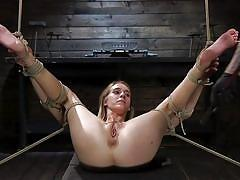 Cadence has her pussy tortured