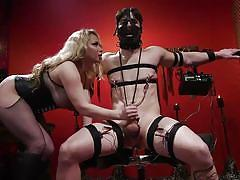 Cock torture for rick fantana