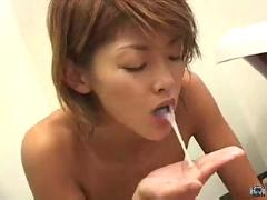 blowjob, wet, titjob, asian, fetish, massage, footjob