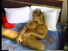 Nikki knockers solo (big boobs)
