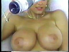 Nikki knockers solo (big boobs)