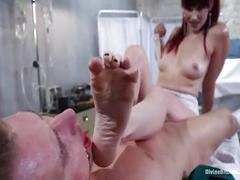 bdsm, fetish, foot, feet, femdom, worship, brutal, madeline, maitresse