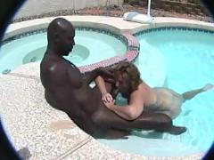 hardcore, outdoor, milf, blowjob, pool, pussyfucking