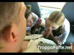 Fuck in the schoolbus