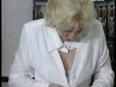Blonde mature lesbo slut