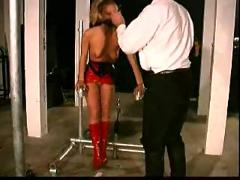 Slave livia extreme restraints bondage training part-2