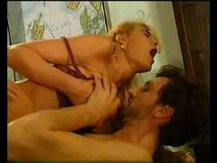 Sibylle rauch - stocking double penetration