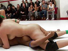 Ebony dykes gets pinned