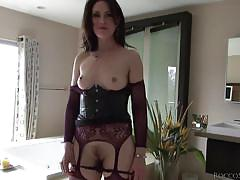 Dirty milf is a prolapsing freak @ rocco's intimate initiations