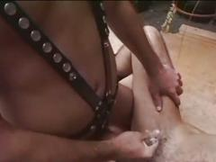 bdsm & fetish, porn stars, fred goldsmith, assfucking, bondage, deepthroat, face fucking, gagging, leather, muscle man, sloppy blowjob, stud