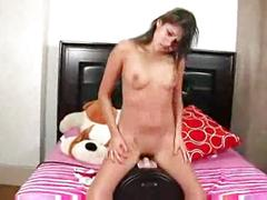 Sybian rider - teen sex video - tube8.com 1