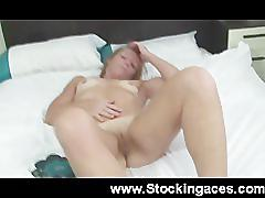 Sexy redhead milf being a slut
