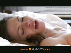 Orgasms - stunning girlfriends eat each other