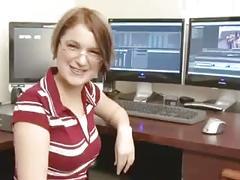 Very cute boss realizes employee's secret dream