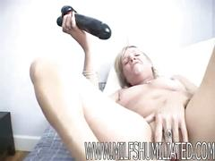 Ninia-home made masturbation 2