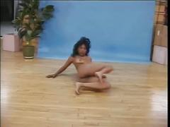 Ebony babe deidra