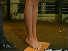 babe, slave, domination, whipped, tied up, brutal punishment, fetish network