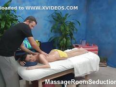 Hidden spycam in massage room