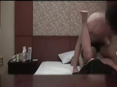 Hidden cam of asian amateur couple