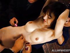 tied, foursome, japanese milf, brunette, japanese bdsm, censored, sex toys, shackles, jp milfs, all japanese pass, erina fujisaki