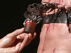 gay bdsm, gay handjob, gay domination, gay twig, big dick, nipple clamps, torture, candle wax, 30 minutes of torment, kink men, micky mackenzie