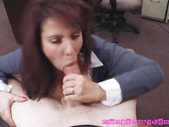 Sucking on the dudes nasty dick so hard