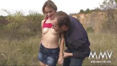 Mmv films amateur teen fucked in the woods