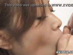 Hot miho maejima blowjob action