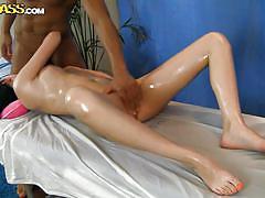massage, babe, blowjob, oiled, brunette, sideways, fingering pussy, hd massage porn, wtf pass, lily xx