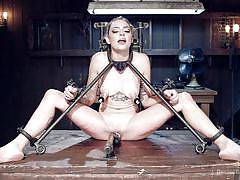 She likes to be teased and tied up