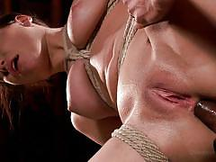 tattoo, spanking, babe, tied, domination, pussy licking, ass fucking, rope bondage, dungeon sex, kink, gabriella paltrova, mickey mod