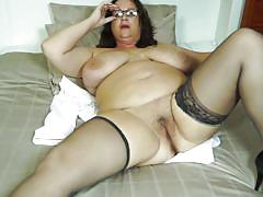 Big fat mature strips for you