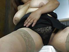 mature, latina, blowjob, big boobs, teasing, undressing, pov, mature nl, rosaly v.