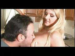 Hot blond - big natural breasts 7-4